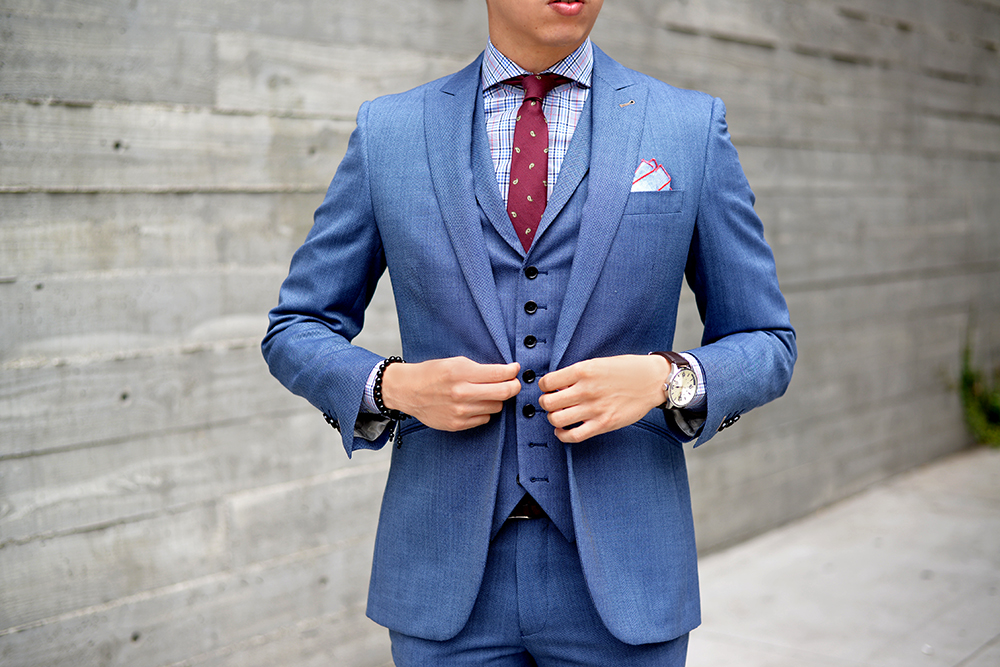 Blue Suit ⎮ Brown Shoes | Blake Scott