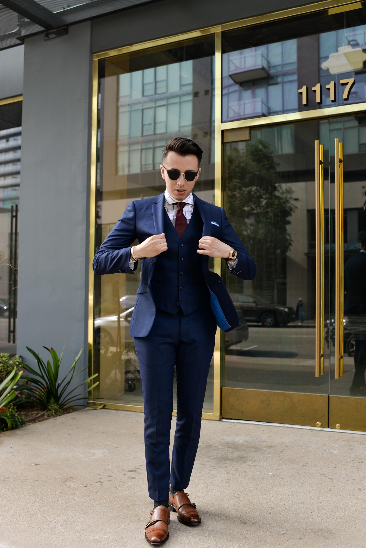 Blue Suit For Everyday Blake Scott