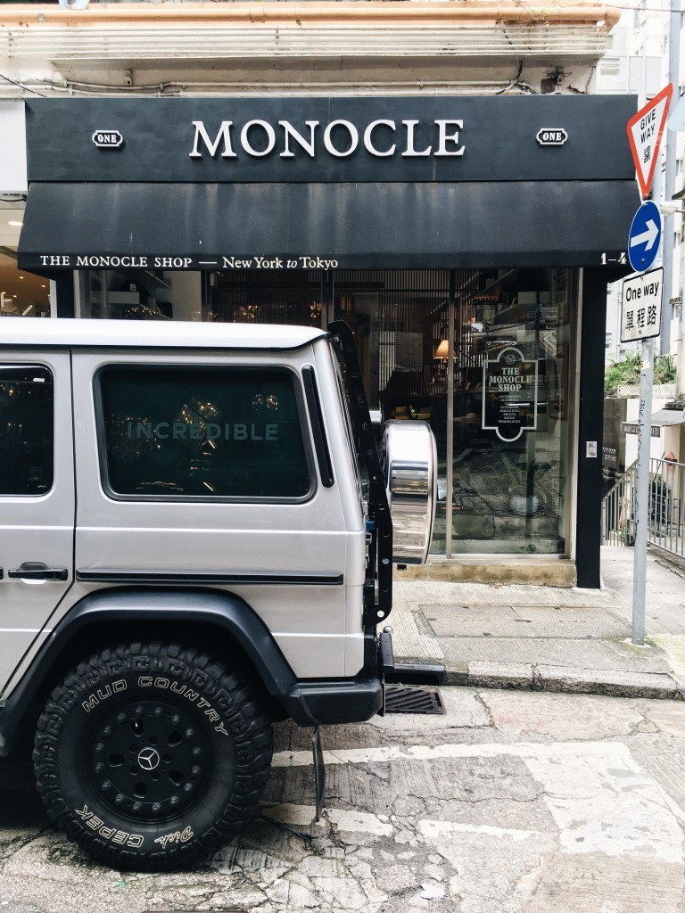 Monocle Shop in Wan Chai
