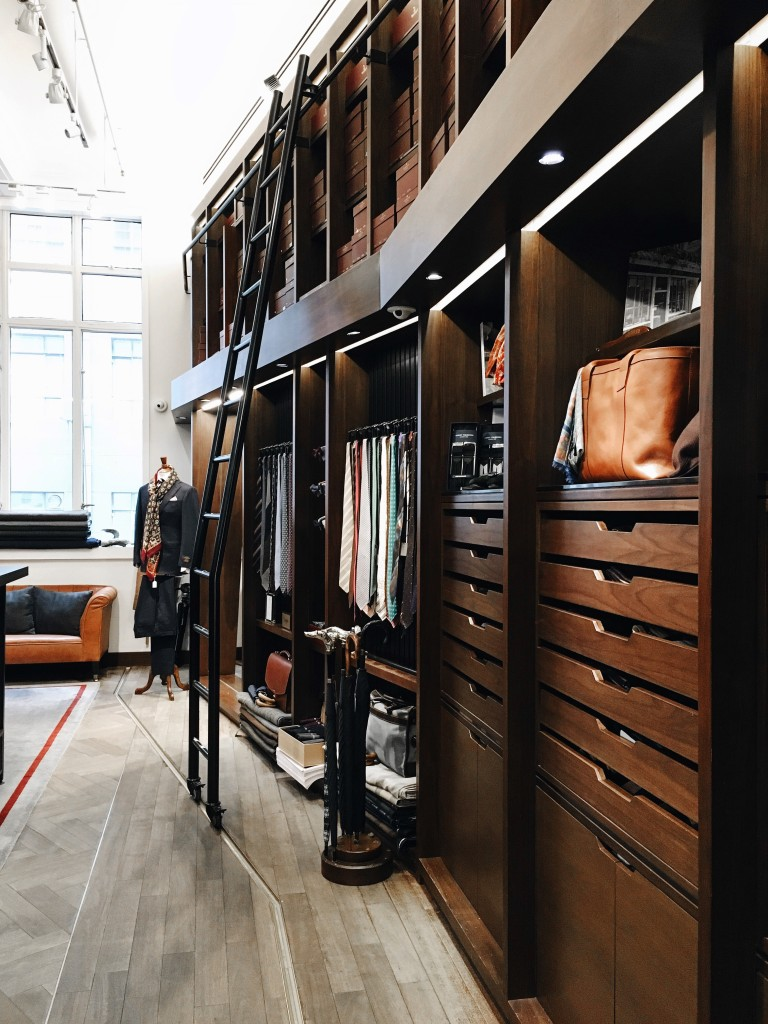 The Armoury = Closet Goals
